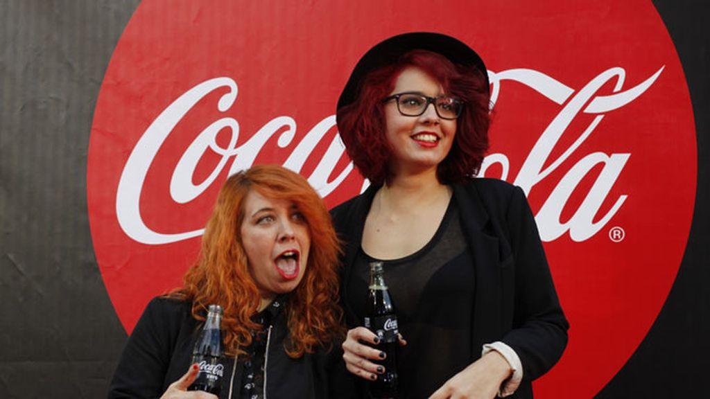 Abi Power y Kat Almagro, poniendo el toque de humor al 'photocall'