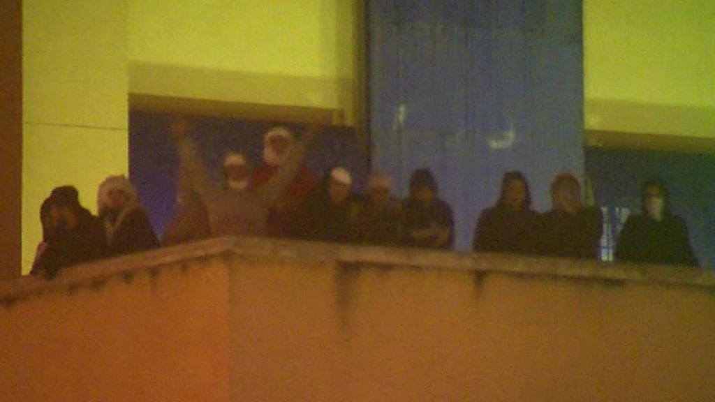 Protesta en el CIE de Aluche