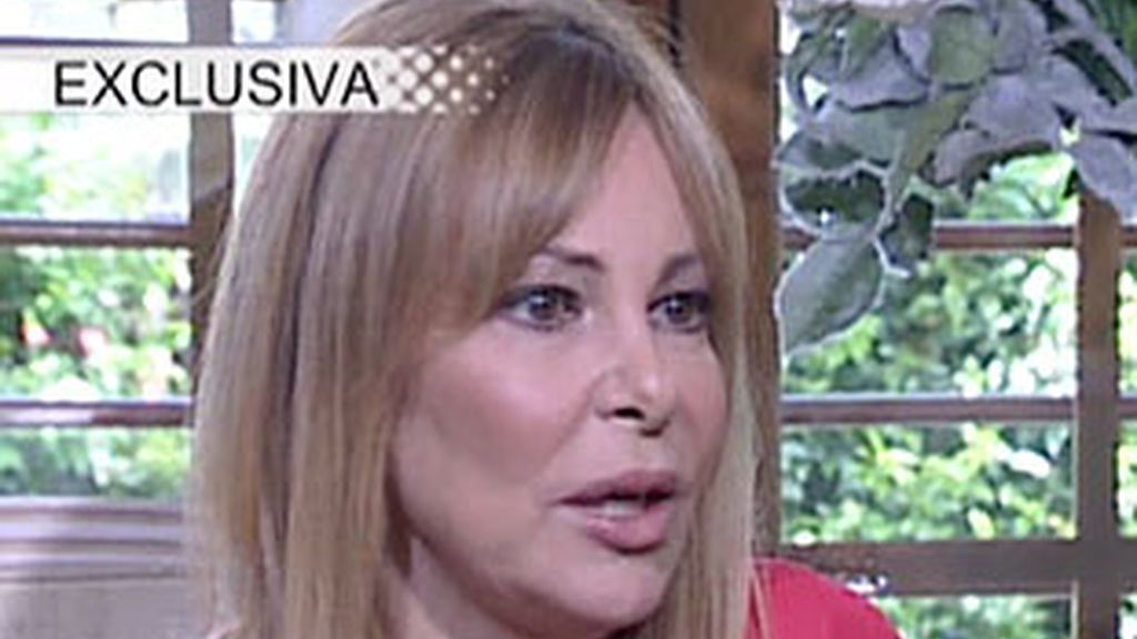 Ana Obregón en la entrevista