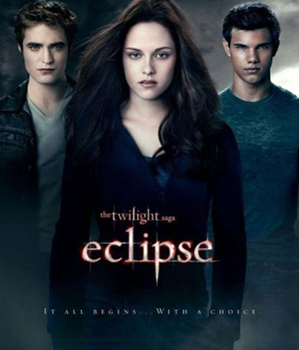 Edward Cullen, Bella Swan y Jacob Black. Foto: Summit Entertainment.