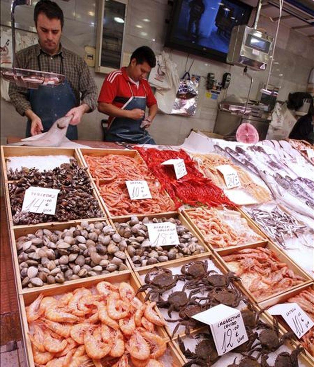 En la imagen, un mercado madrileño. EFE/Archivo