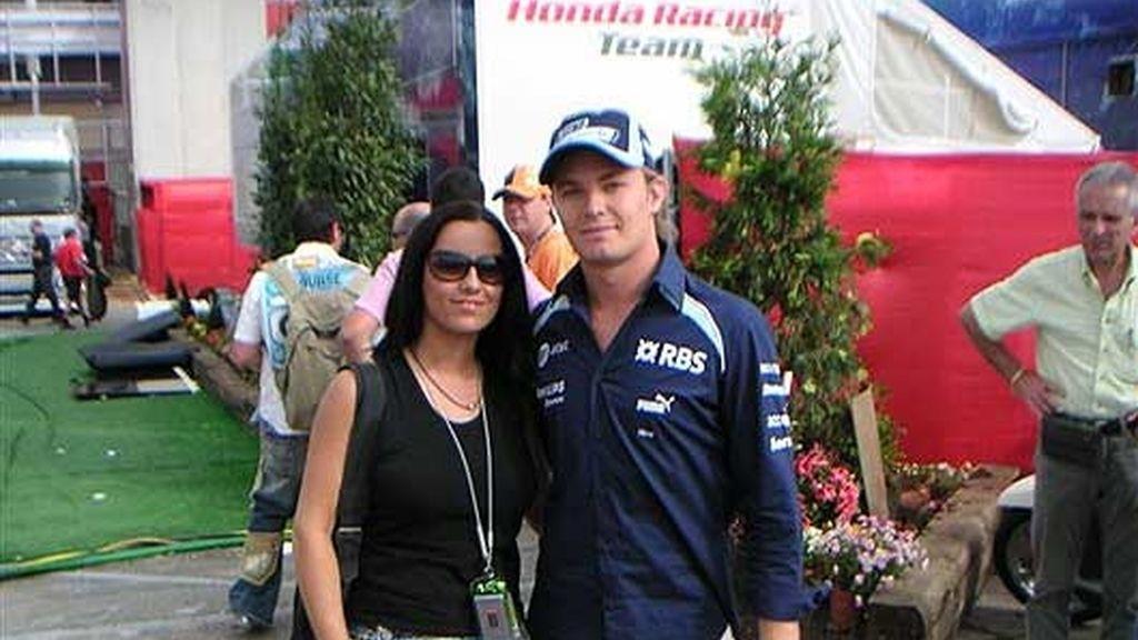 Con Nico Rosberg