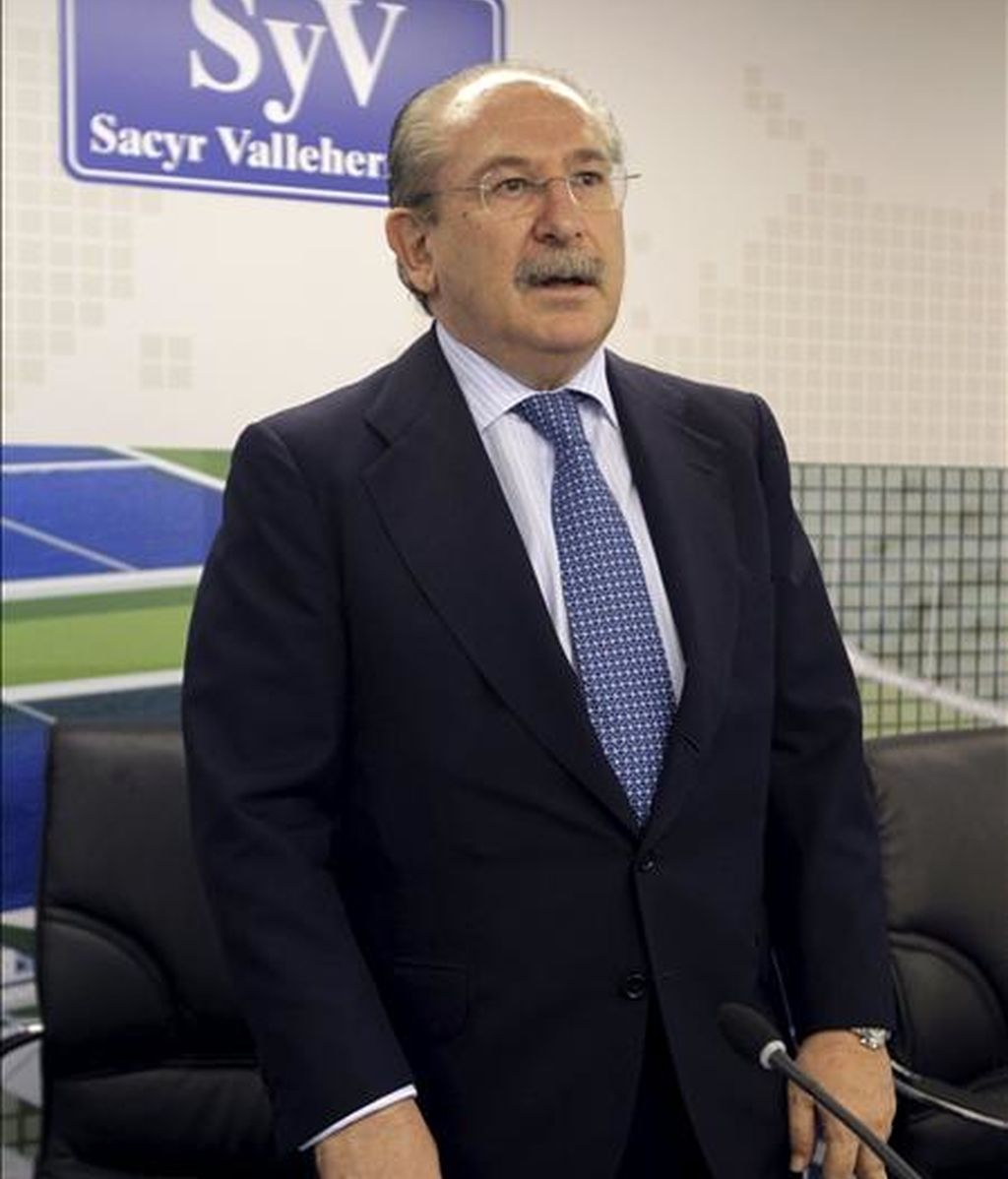 El presidente del consejo de administración de Sacyr Vallehermoso, Luis del Rivero. EFE/Archivo