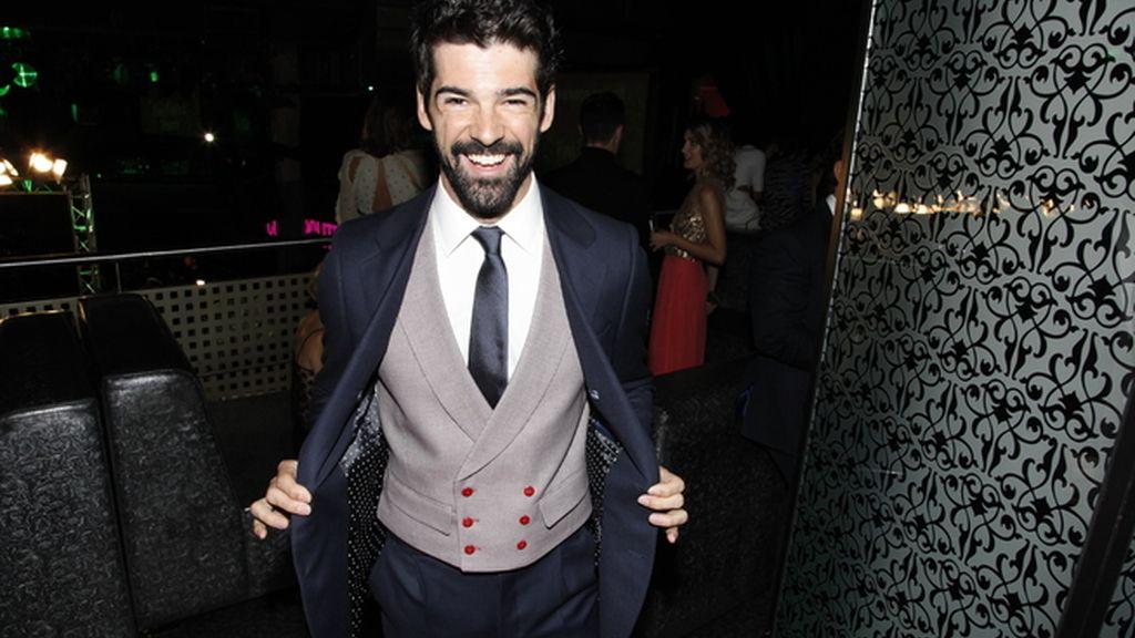 Miguel Ángel Muñoz, uno de los invitados más elegantes de la fiesta