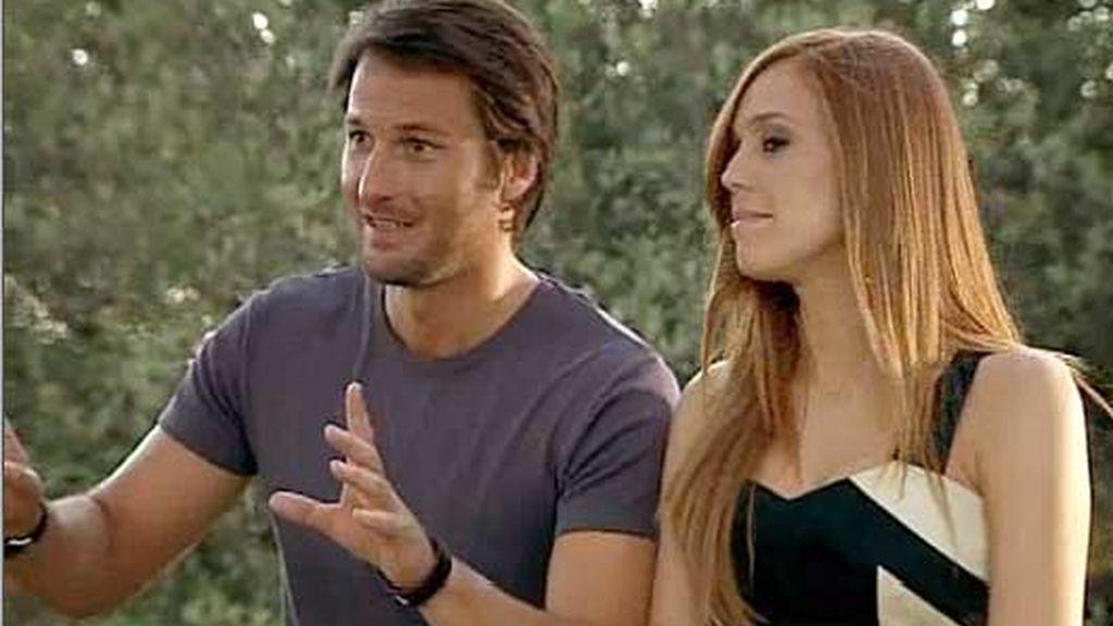 Jessi y Pablo, romántico y accidentado fin de semana