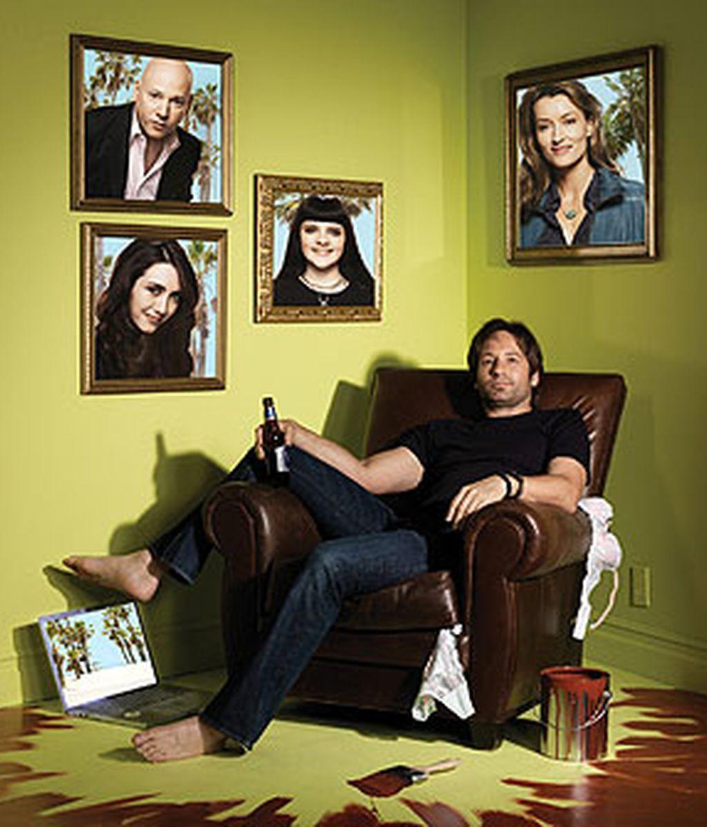 Hank Moody se reconciliará con Karen en la segunda temporada de 'Californication'
