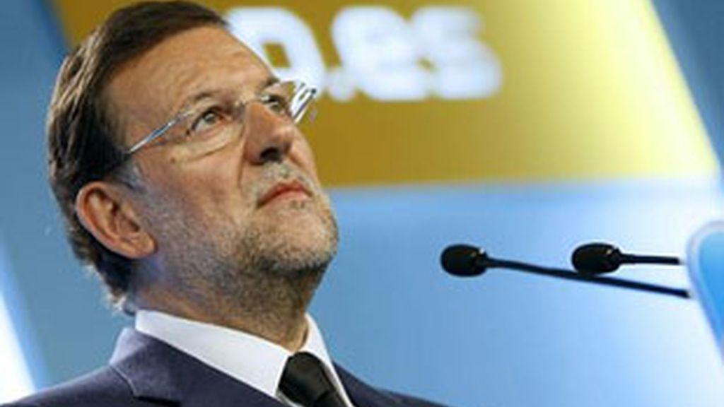 Imagen de archivo del presidente del PP, Mariano Rajoy. Foto: EFE.