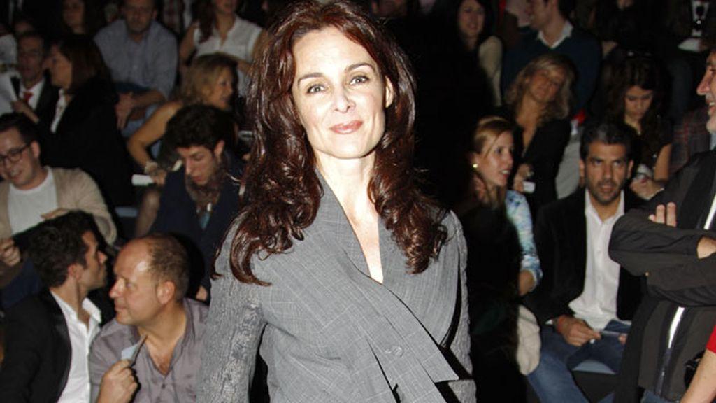 Silvia Marsó en el desfile de Devota & lomba