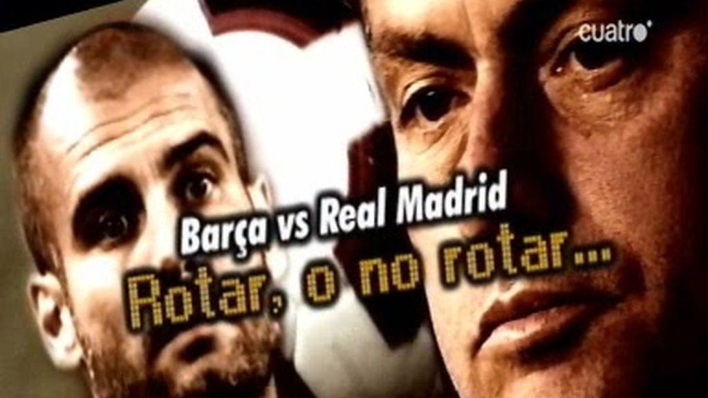 Así llega el Madrid y Barcelona al derbi