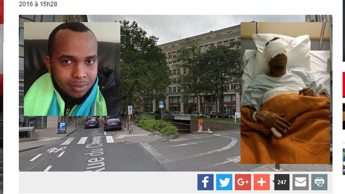 Arrancan los ojos a Liban Moustapha Hassan en una pelea en Bruselas, Bélgica