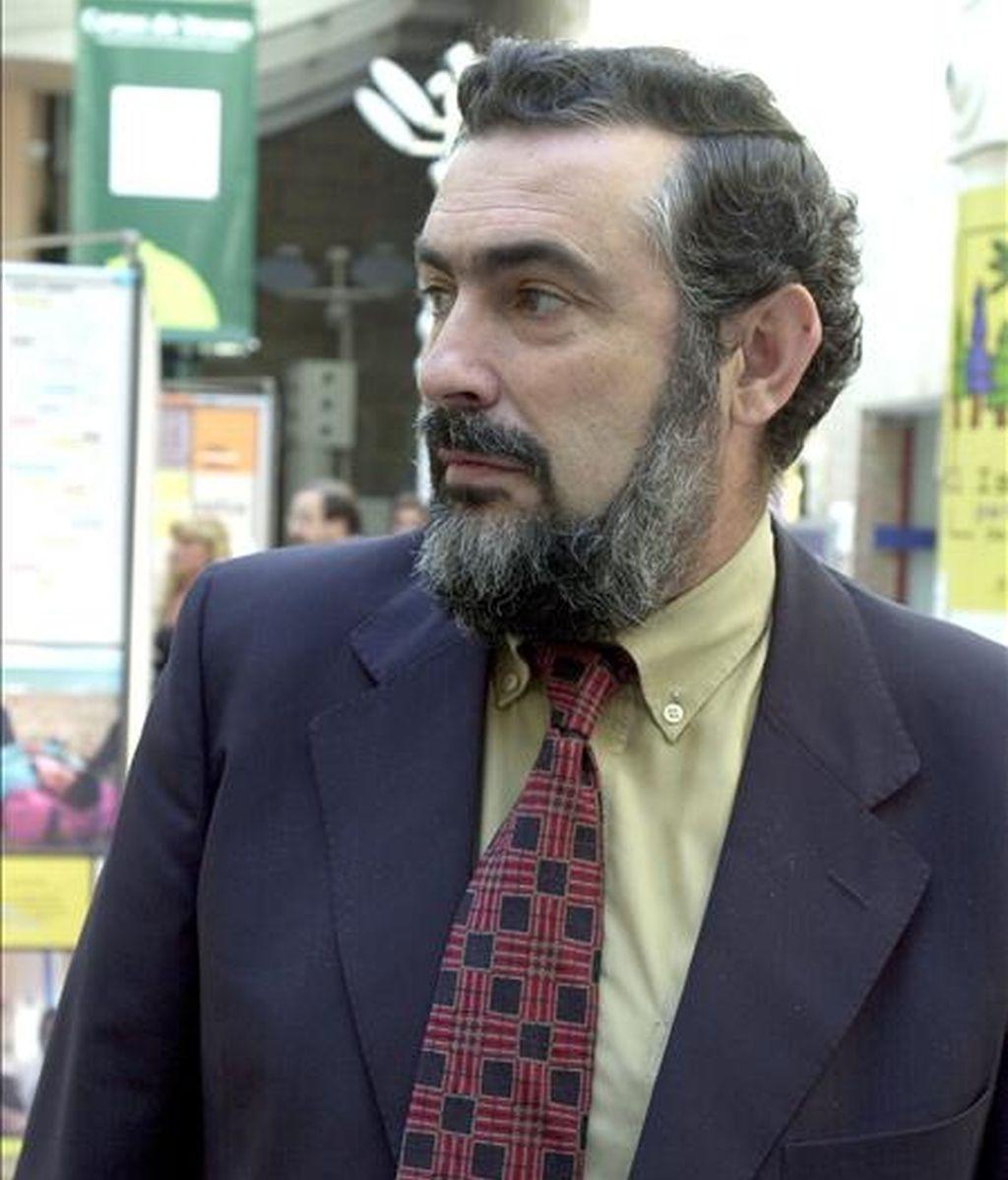 En la imagen, el filólogo Manuel Alvar Ezquerra. EFE/Archivo