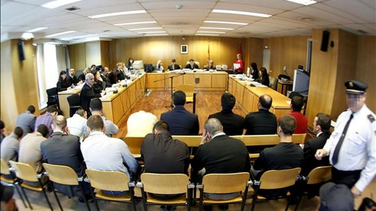 """Juicio contra """"Blood and Honour España"""" en la Audiencia de Madrid. EFE/Archivo"""