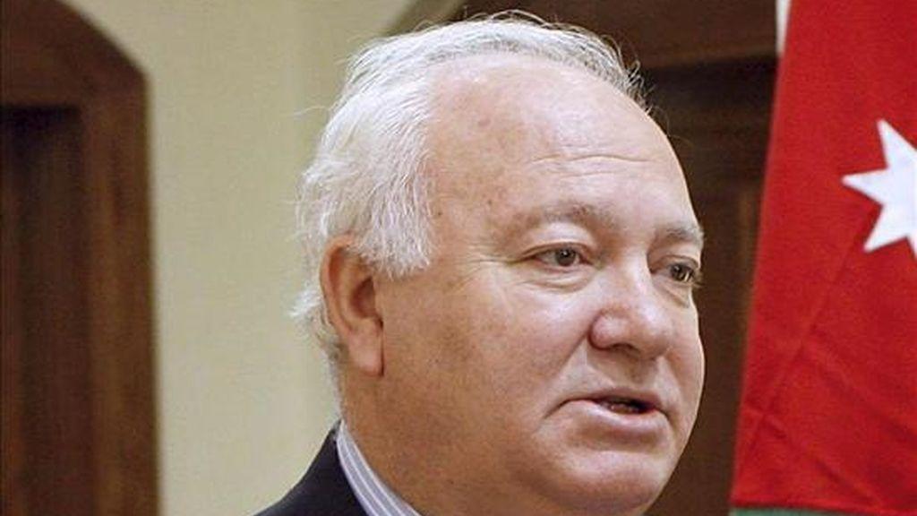 El ministro español de Asuntos Exteriores, Miguel Ángel Moratinos. EFE/Archivo