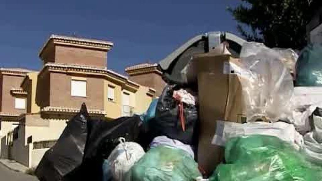 Huelga de basuras en Ogíjares