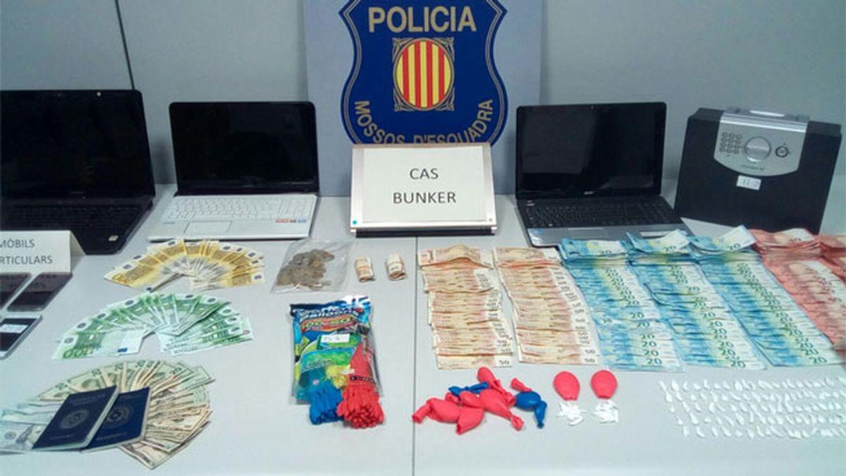 Encuentran cocaína dentro de un globo infantil en un piso de Badalona