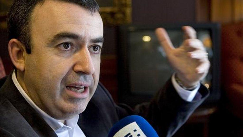 El novelista Lorenzo Silva durante una entrevista con la Agencia Efe. EFE/Archivo