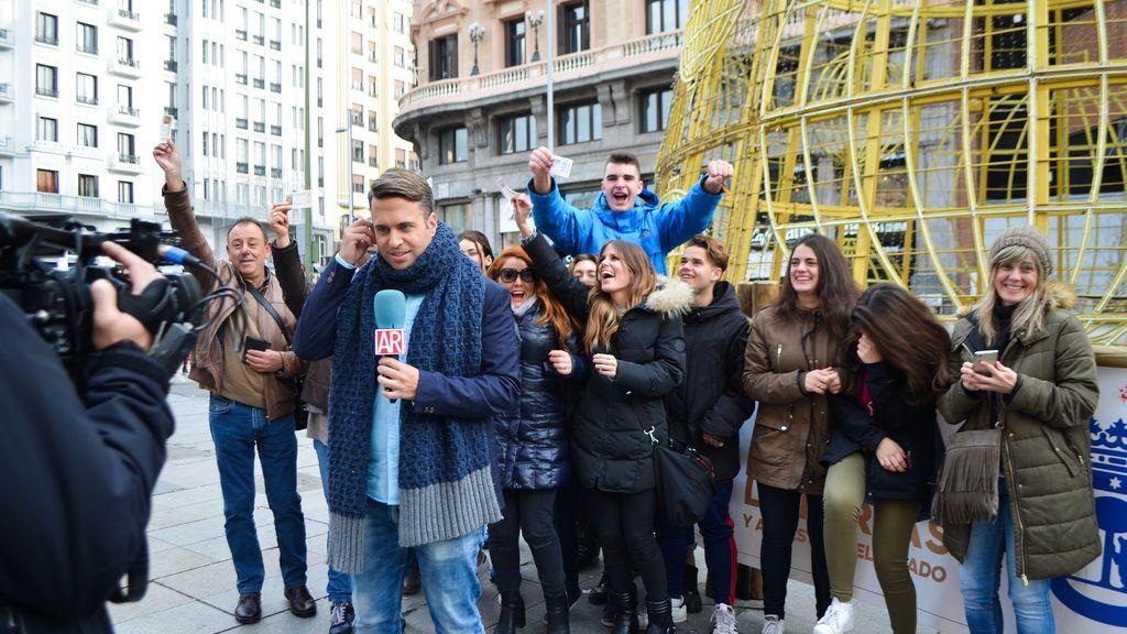 La lotería cae en Madrid