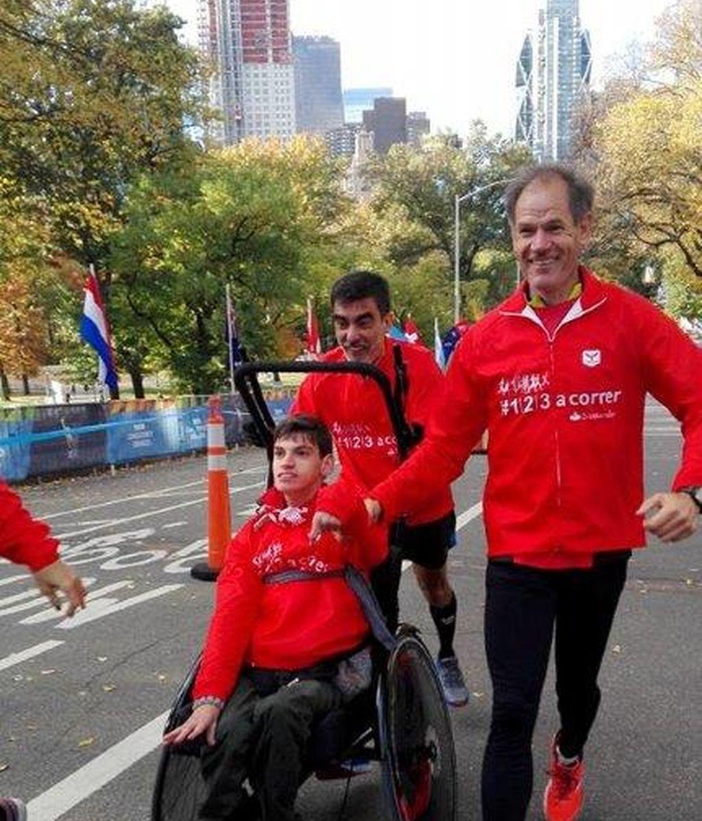 correr, maraton, Nueva York, Pablo
