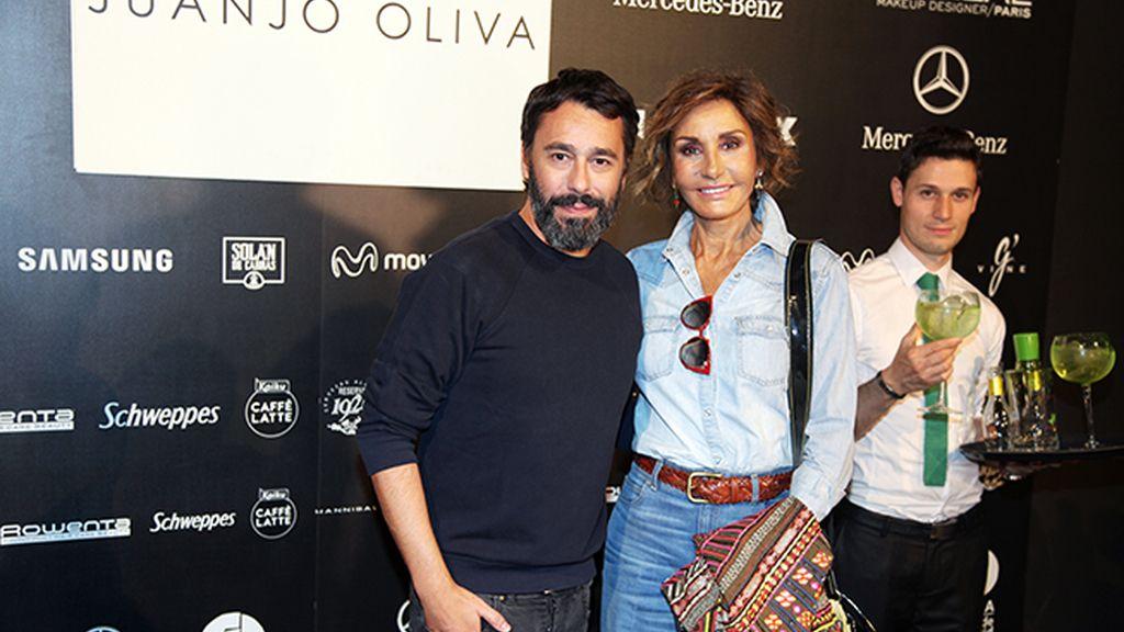 Juanjo Oliva presentó su nueva colección rodeado de estrellas como Naty Abascal