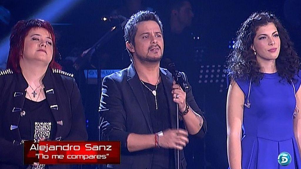 Alejandro Sanz se ha subido dos veces al escenario de 'La Voz'