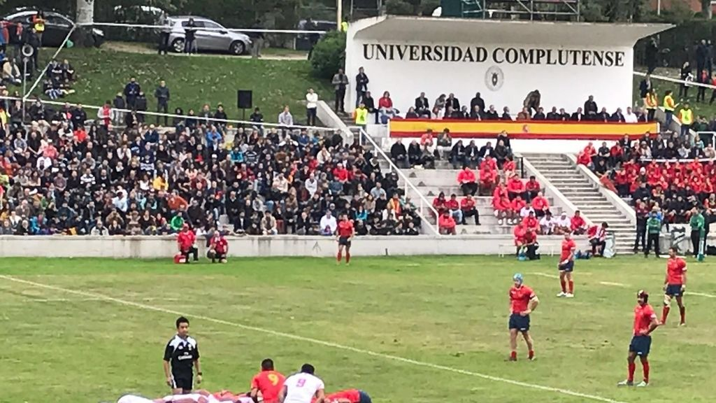 España juega el primer partido oficial con Tonga