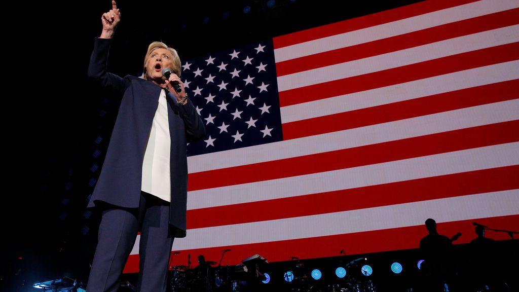 Hillary Clinton, ganaría según los sondeos