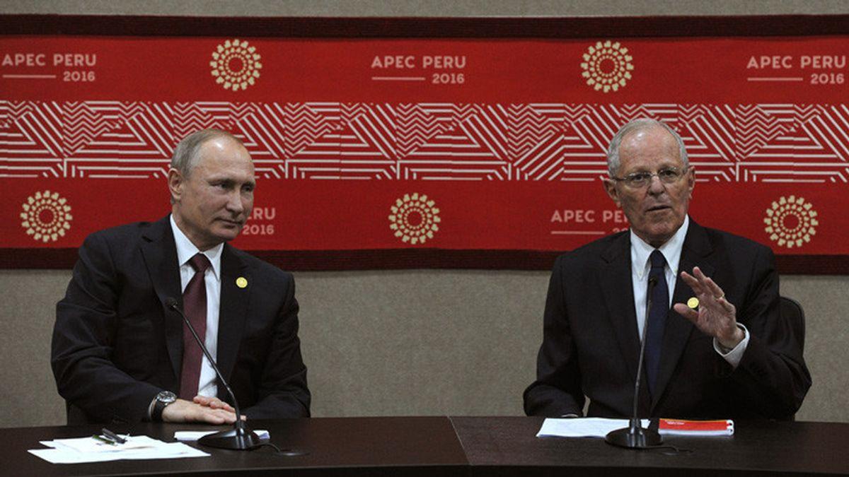 Putin y presidente Perú