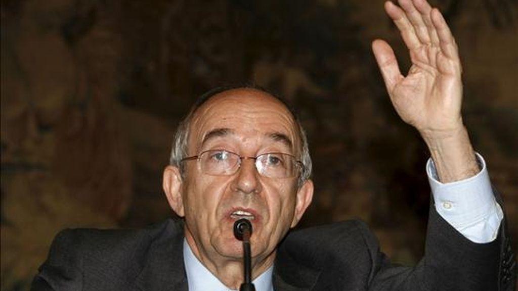 El gobernador del Banco de España, Miguel Ángel Fernández Ordóñez. EFE/Archivo