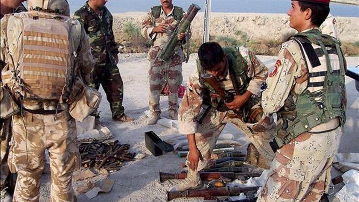 """El Gobierno del Reino Unido supo diez días antes de la invasión de Irak -el 20 de marzo de 2003- que el régimen de Sadam Husein no tenía la capacidad de utilizar armas químicas y que ese arsenal podía haber sido """"desmantelado"""". EFE/Archivo"""