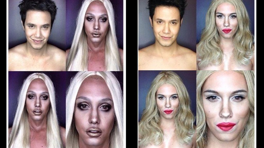 No es Donatella, es Lady Gaga junto a una exhuberante Scarlett Johansson