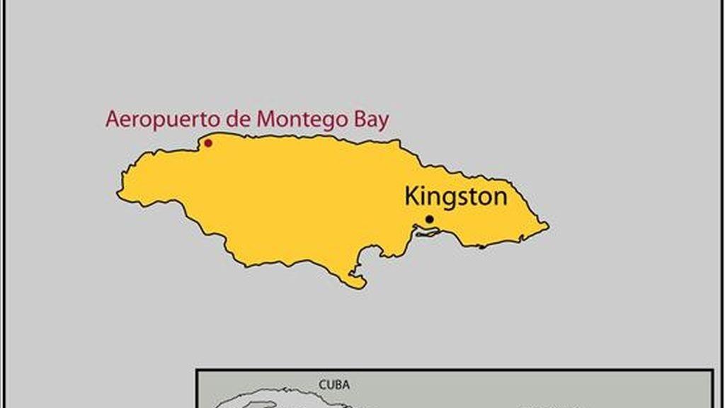 El secuestrador de un avión canadiense en Jamaica fue capturado hoy después de ocho horas de tensión en el aeropuerto de Montego Bay. EFE