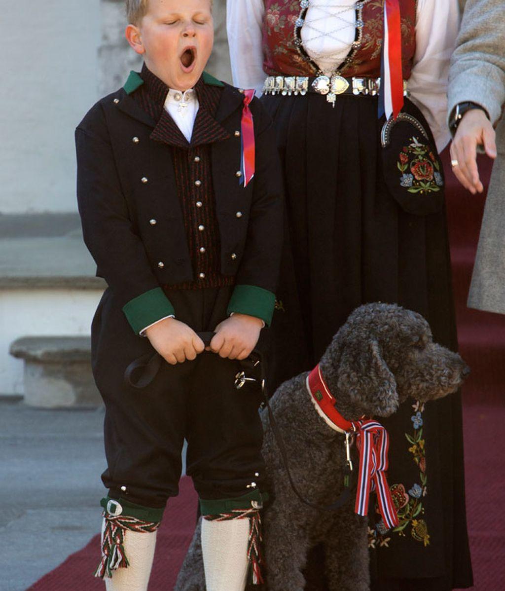 bostezo, Prince Sverre Magnus