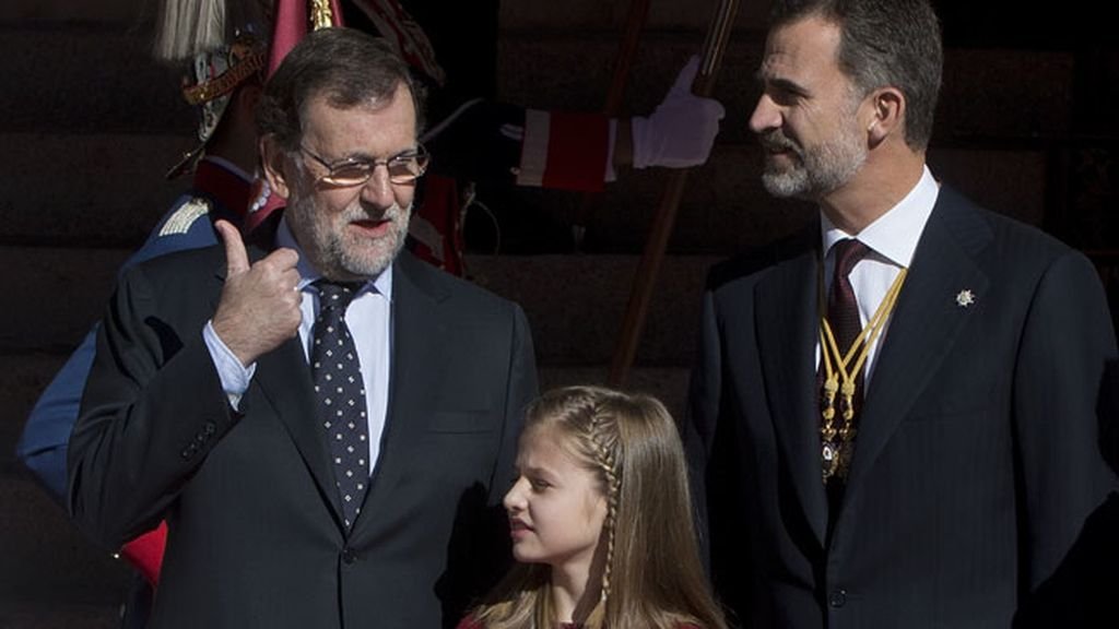 Han acudido a la sesión solemne de apertura en las Cortes (Madrid)