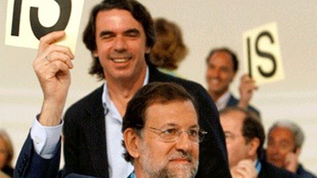 Rajoy en el congreso del PP