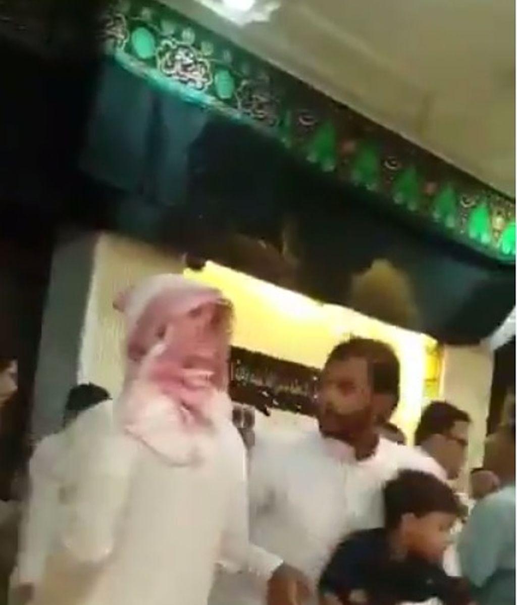 Imágenes del ataque del Estado Islámico en Arabia Saudí