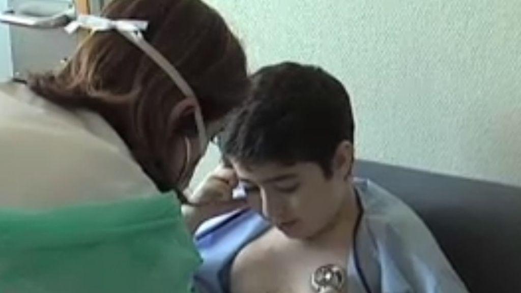 Annás, de 13 años, primer menor transplantado de pulmón en Madrid