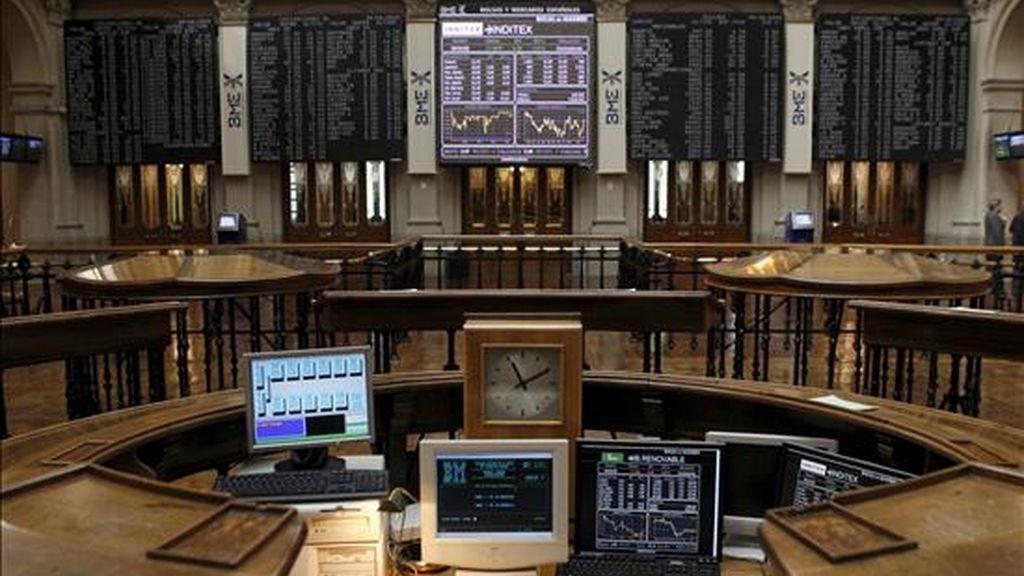 Vista de la Bolsa de Madrid. EFE/Archivo