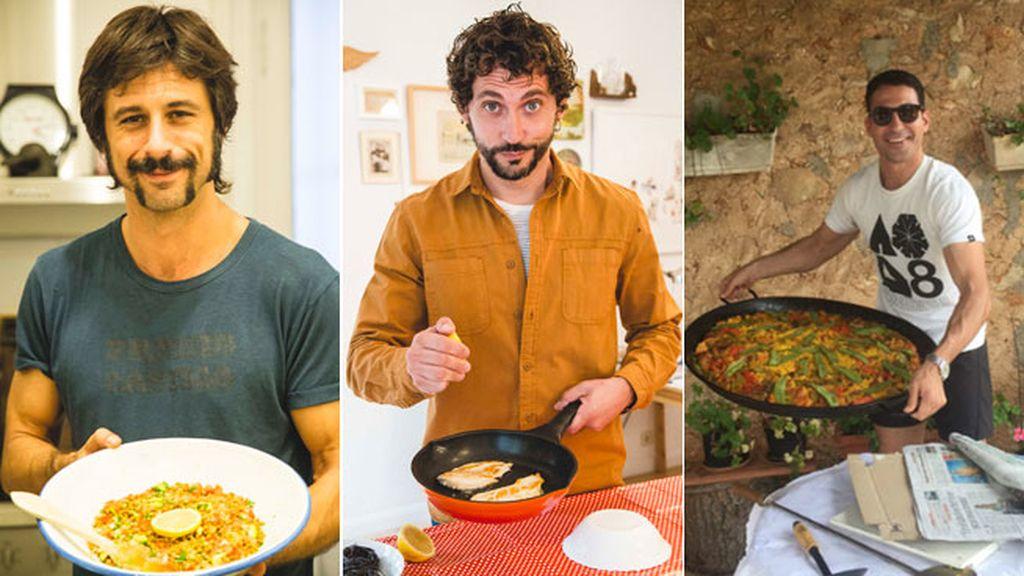 El libro 'Come Conmigo' recoge a todos ellos cocinando