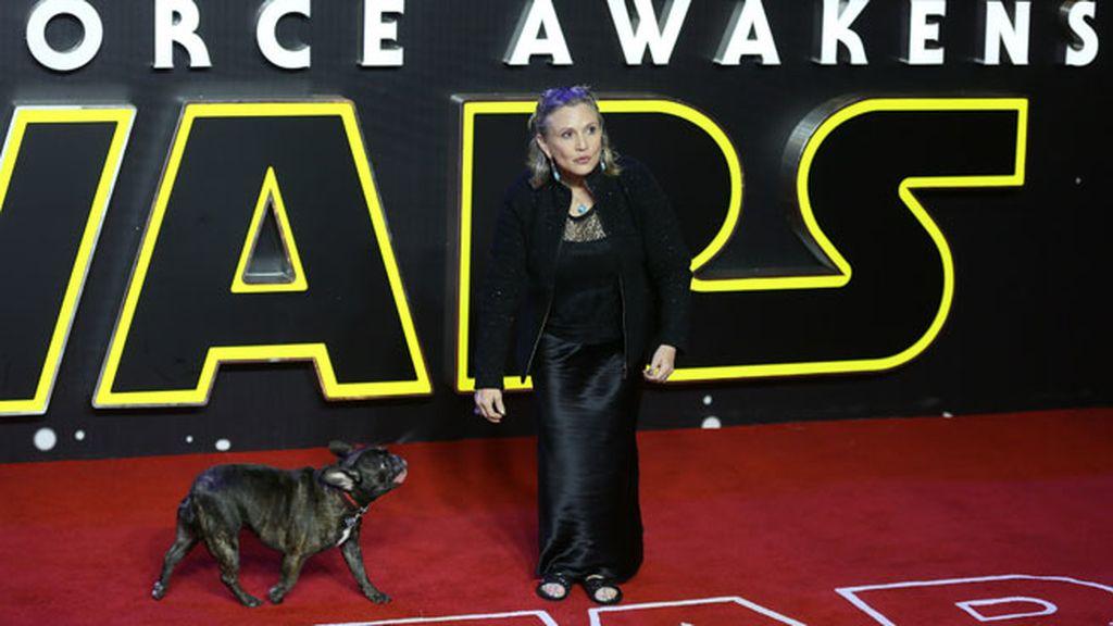 Hasta en el estreno de Star Wars: El despertar de la Fuerza, en 2015