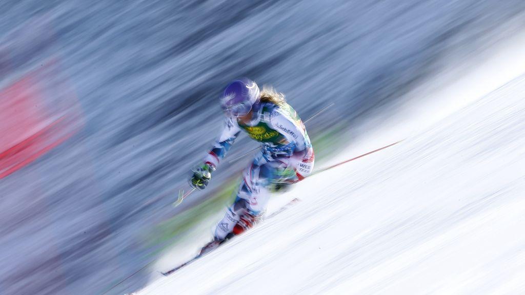 La esquiadora Michaela Kirchgasser