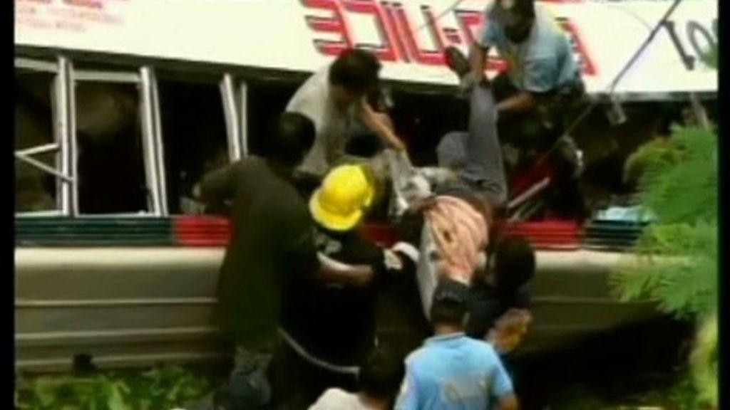 Accidente de autobús en Filipinas