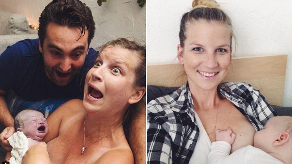 La inesperada sorpresa que esta madre recibe al dar a luz se hace viral