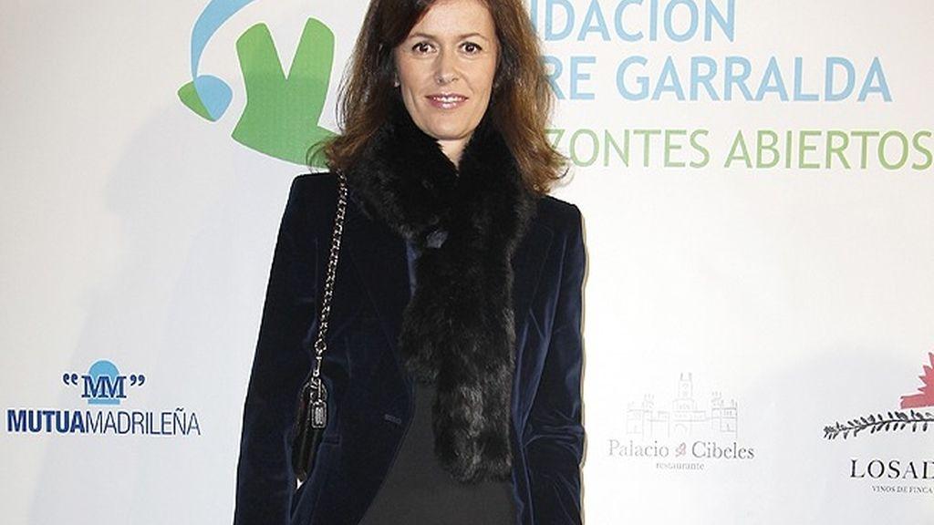 Nuria March, en el acto 'Horizontes Abiertos'