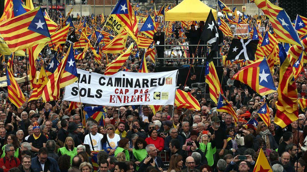Movilizaciones Cataluña