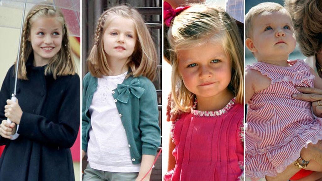 De Infanta a Princesa y futura Heredera de la Corona