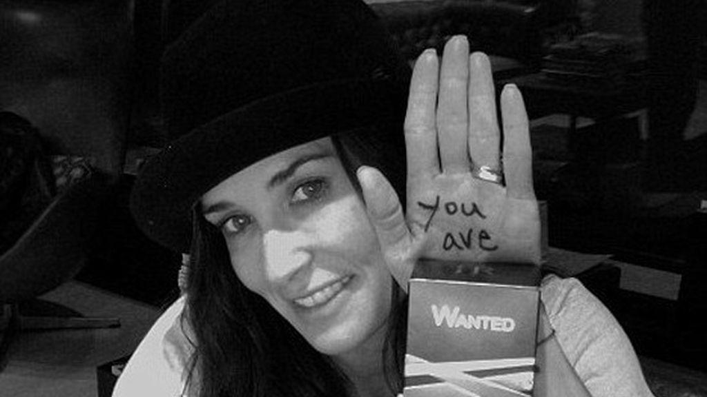 Los mensajes provocativos de Demi Moore y Ashton Kutcher