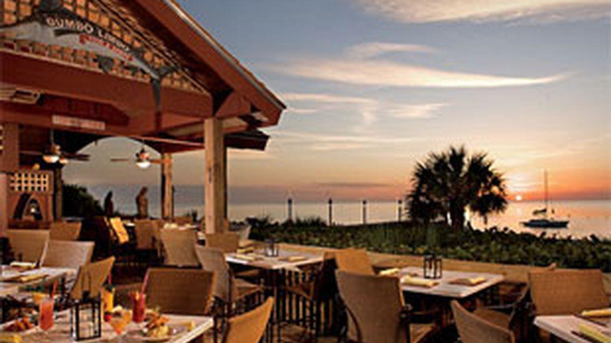 Uno de los restaurantes del Ritz-Carlton Naples.