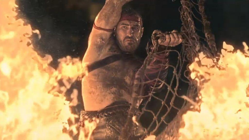 """Los gladiadores """"juegan con fuego"""" en los Juegos de Capua"""