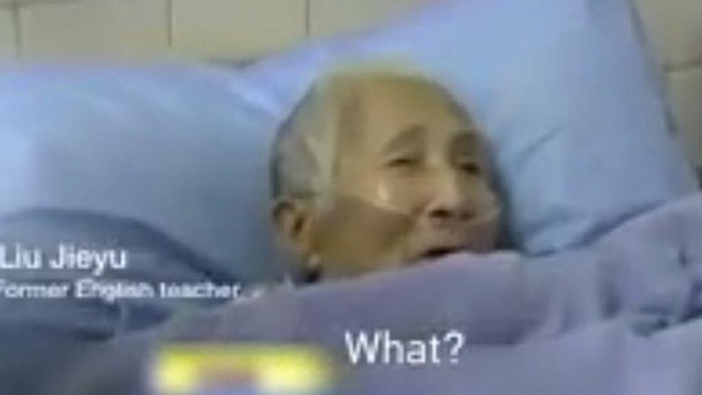 Una mujer china despierta del coma hablando sólo inglés después de 30 años sin practicarlo