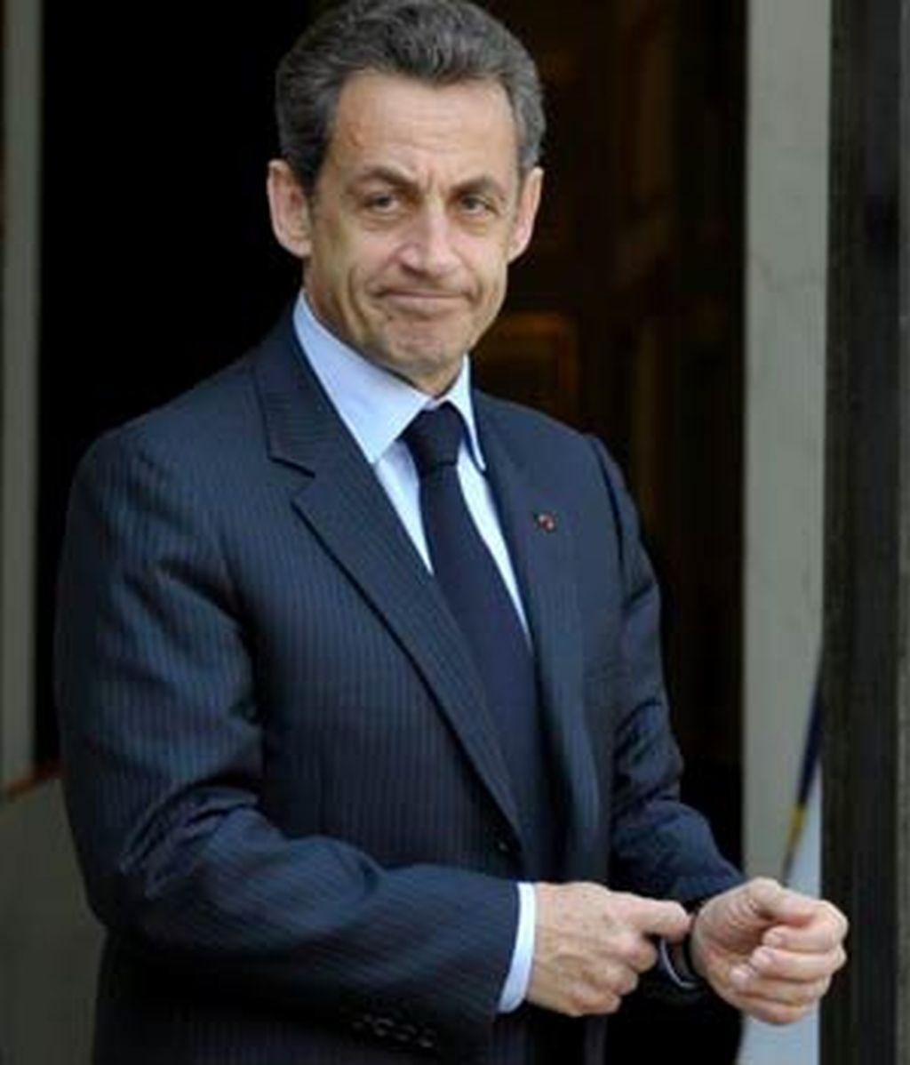El presidente de Francia, Nicolas Sarkozy, en una imagen de archivo. Foto: EFE